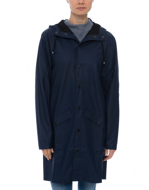 Rains - Navy Waterproof Raincoat