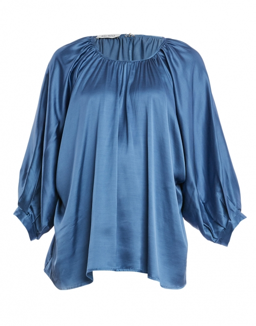 Recreo San Miguel - Gaby French Blue Viscose Elastane Blouse