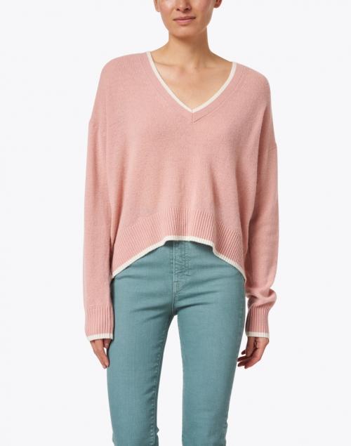Veronica Beard - Estora Rosewater Cashmere Sweater