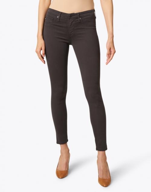 AG Jeans - Prima Dark Grey Stretch Sateen Cigarette Jean
