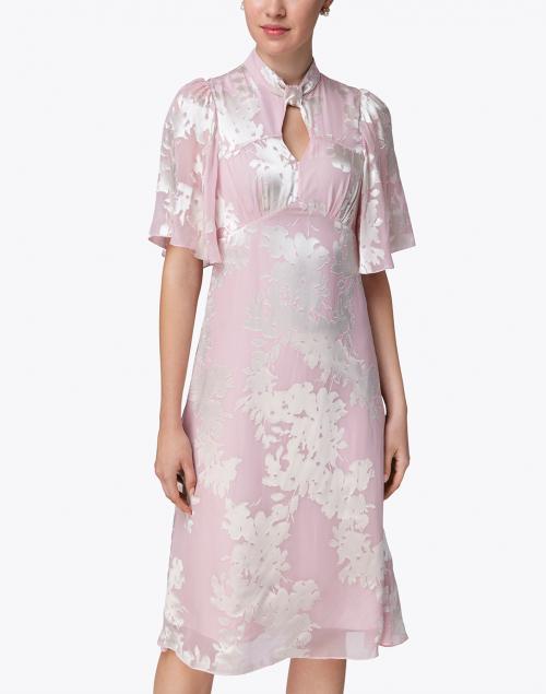 Beulah - Shifali Pale Pink Floral Printed Dress