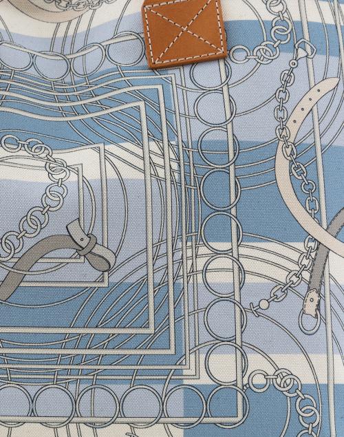 Rani Arabella - Light Blue Venezia Small Tote