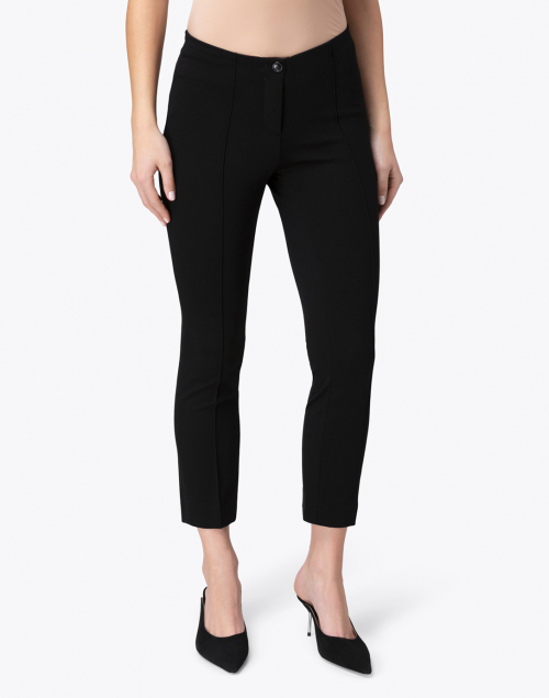 Marc Cain - Black Ponte Knit Pull On Pants