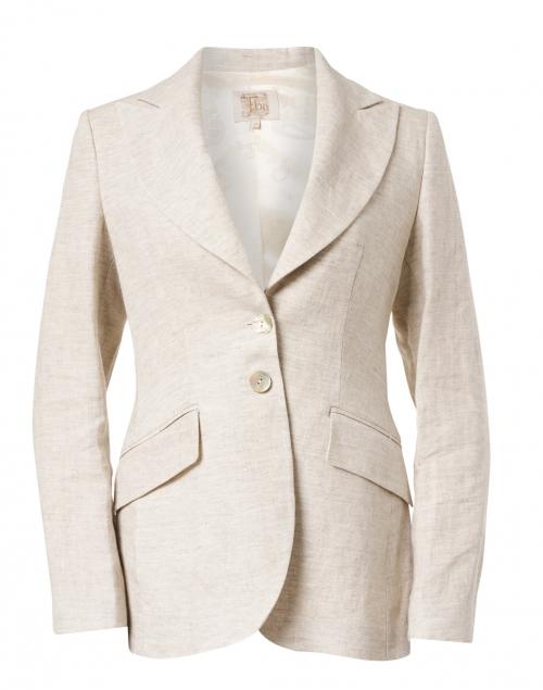T.ba Stone Linen Swing Jacket