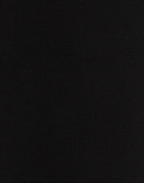 Sara Roka - Black Embellished Wide Satin Ribbed Belt