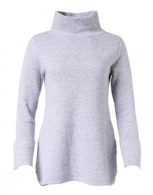 Burgess Lauren Egret Grey Cotton Cashmere Tunic