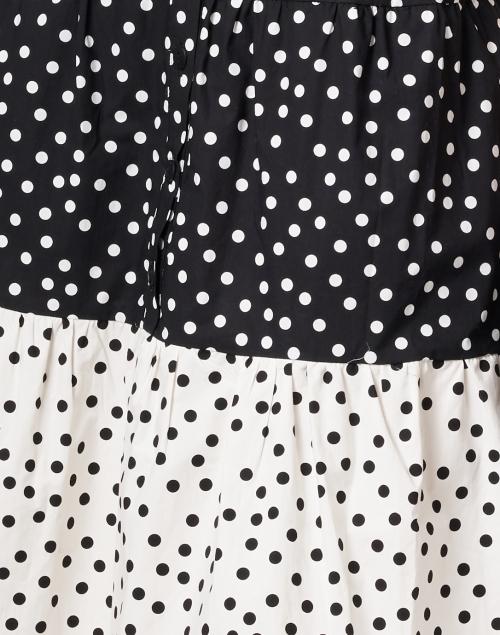 Helene Berman - Black and White Polka Dot Cotton Dress