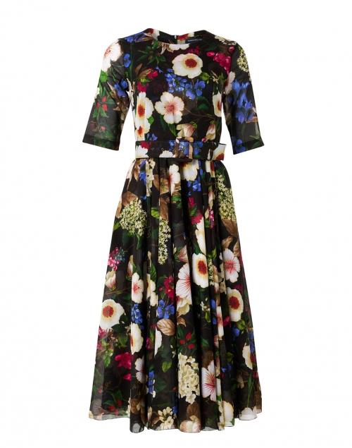 Samantha Sung - Aster Multi Florentine Print Cotton Musola Dress