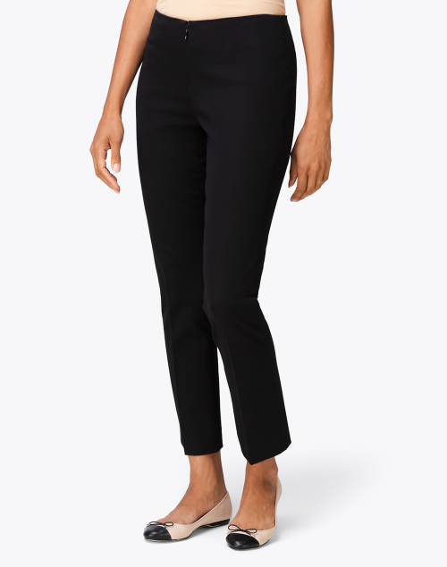 Peace of Cloth - Jerry Black Stretch Cotton Pant