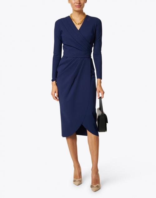 Chiara Boni La Petite Robe - Jodene Navy Stretch Jersey Dress