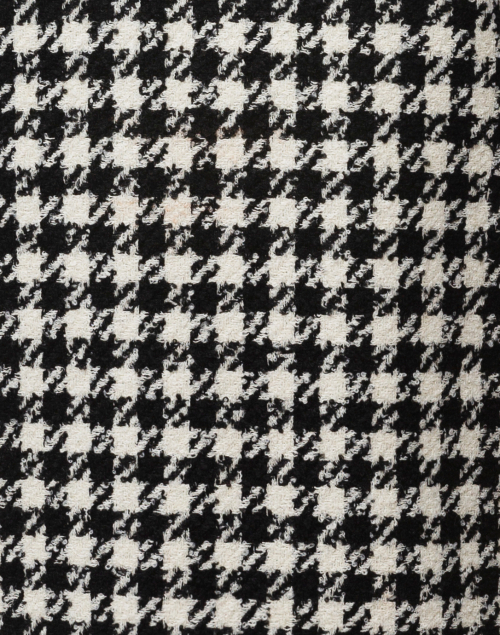 Weill - Black and White Houndstooth Top