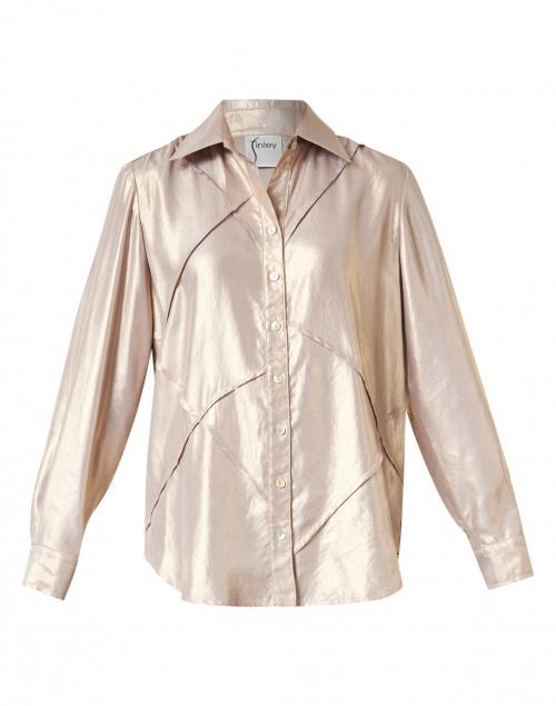 Finley - Toby Liquid Gold Shirt