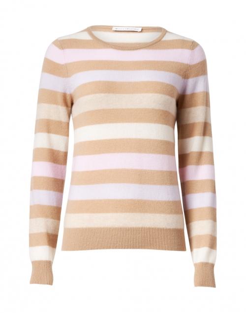 White + Warren Multi Stripe Cashmere Sweater