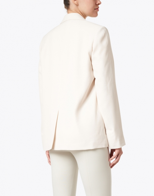 Vince - Magnolia Ivory Single Button Boyfriend Blazer