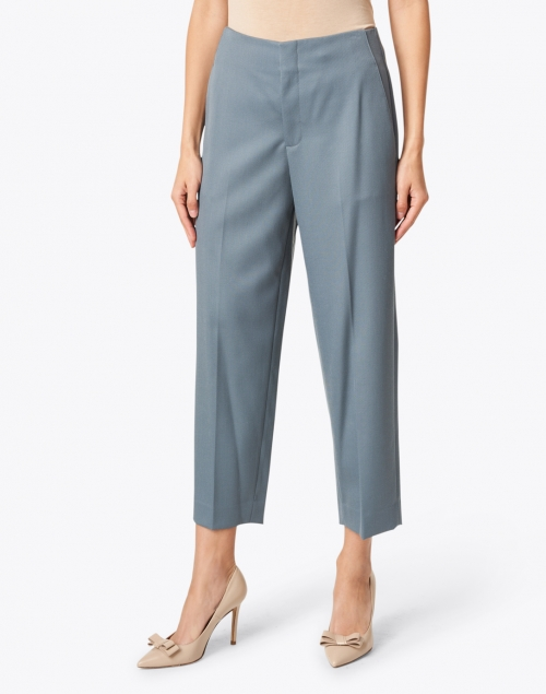 Vince - Blue Tapered Cropped Pant