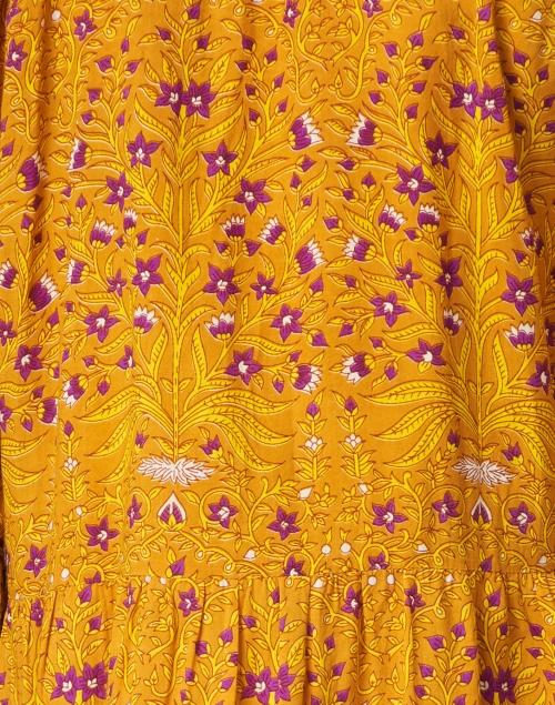 Roller Rabbit - Janni Yellow Rhone Floral Cotton Dress