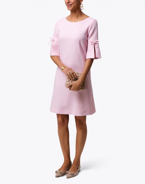 Goat - Irinna Pink Wool Crepe Tunic Dress