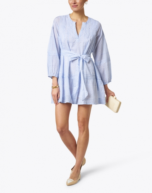 Roller Rabbit - Nydia Blue Surry Print Dress