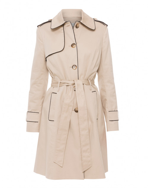 Helene Berman - Beige Single Breasted Trench Coat
