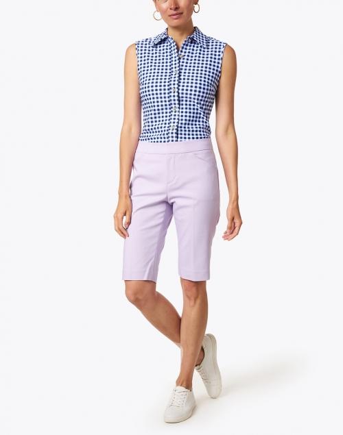 Peace of Cloth - Heather Iris Premier Stretch Cotton Shorts
