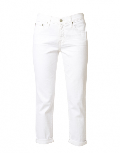 AG Jeans - Relaxed Fit Slim White Jean