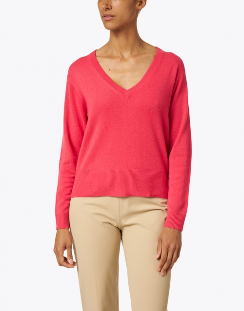 Allude - Watermelon Pink Cashmere Sweater