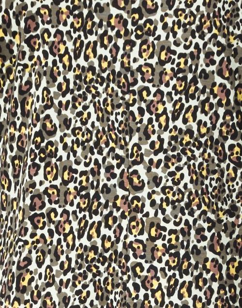 Marc Cain - Seafoam, Yellow and Black Animal Printed Dress