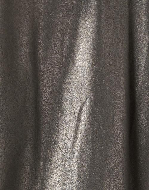 Brochu Walker - Rygg Dark Grey Stretch Vegan Leather Shirt