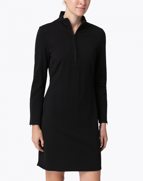 Jude Connally - Anna Black Ponte Dress
