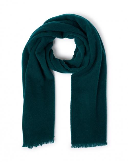 Max Mara Studio - Ontario Green Wool Scarf