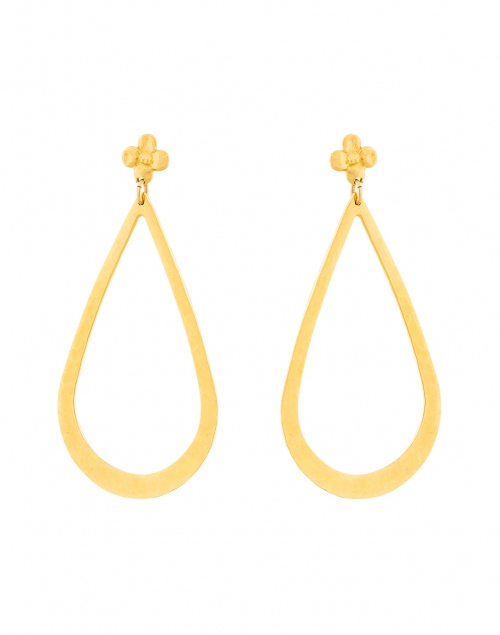 Gas Bijoux Bo Bibi Gold Teardrop Earring