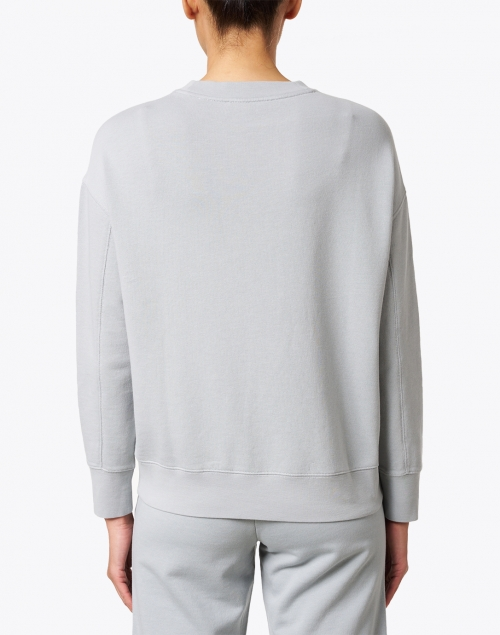 Vince - Slate Blue Grey Cotton French Terry Pullover