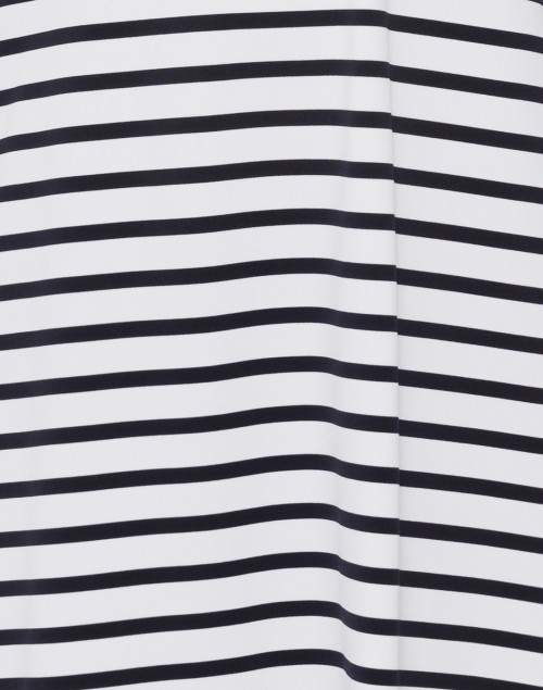 Saint James - Angouleme White and Navy Striped Dress