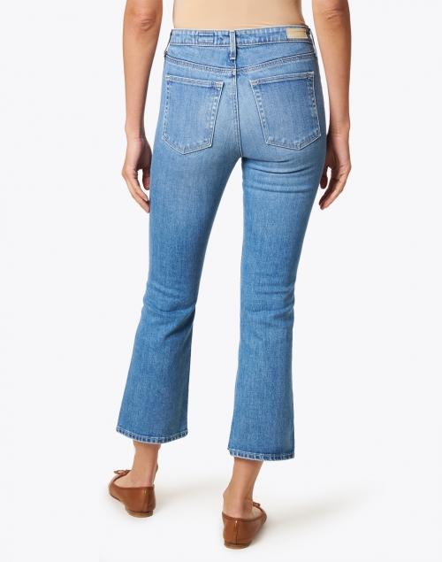 AG Jeans - Jodi Light Wash Flare Crop Stretch Denim Jean