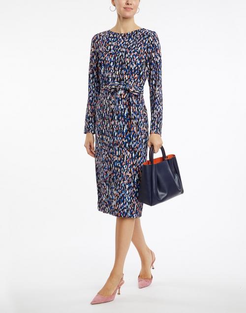 BOSS Hugo Boss - Darota Multi Dotted Stretch Viscose Dress