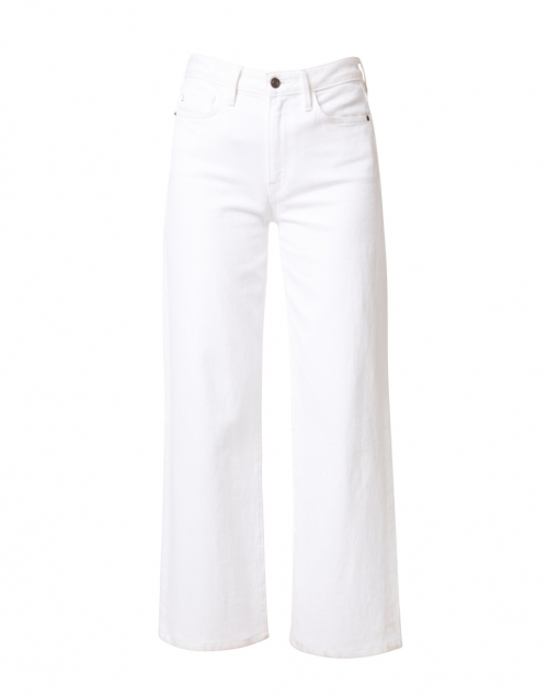 Lafayette 148 New York - Wyckoff White Denim Wide Leg Cropped Jean