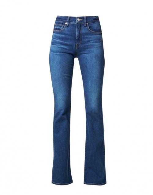 Veronica Beard Beverly Bright Blue High Rise Flare Stretch Jean