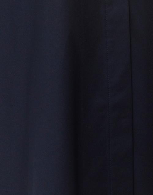 Hinson Wu - Betty Navy Button Down Stretch Cotton Shirt