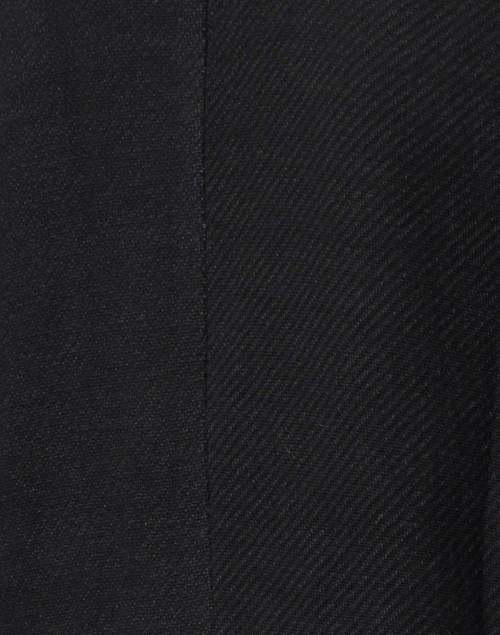 Ecru - Everyday Black Cotton Tencel Blazer