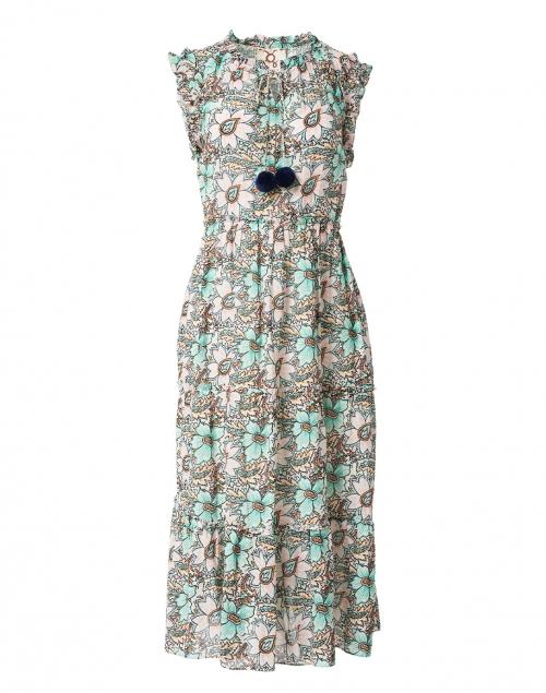 Figue - Clara Ivory Bloom Print Cotton Dress