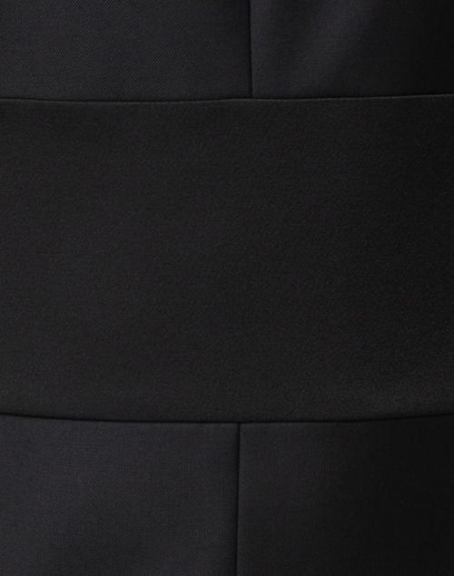 BOSS Hugo Boss - Denalyn Black Satin Waisted Dress