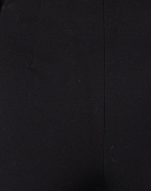 Vince - Black Cotton Bi Stretch Crop Flare Pant
