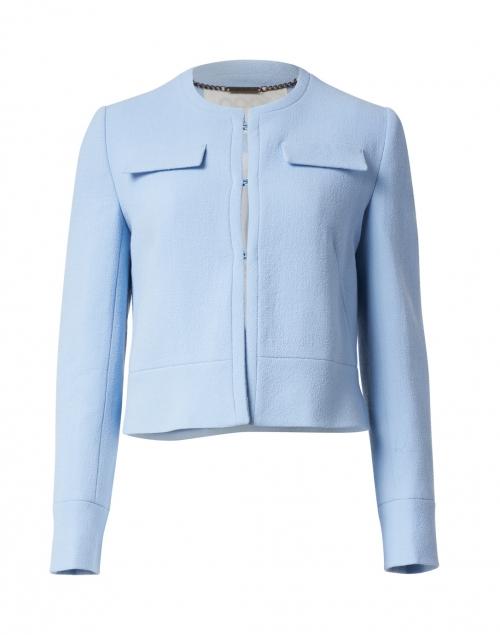 Goat - Kourtney Ice Blue Wool Crepe Jacket