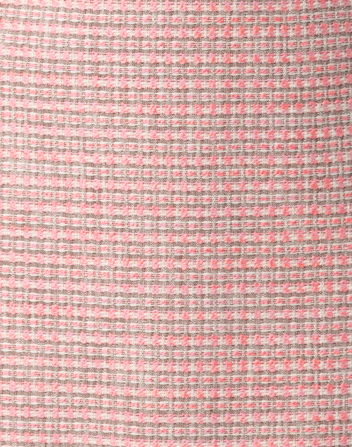 Paule Ka - Pink Tweed Cotton Dress