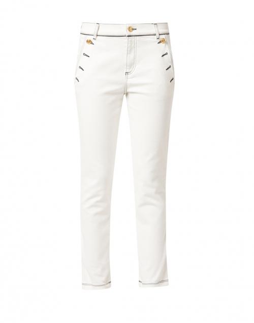 Escada Sport White Sailor Stretch Denim Jeans