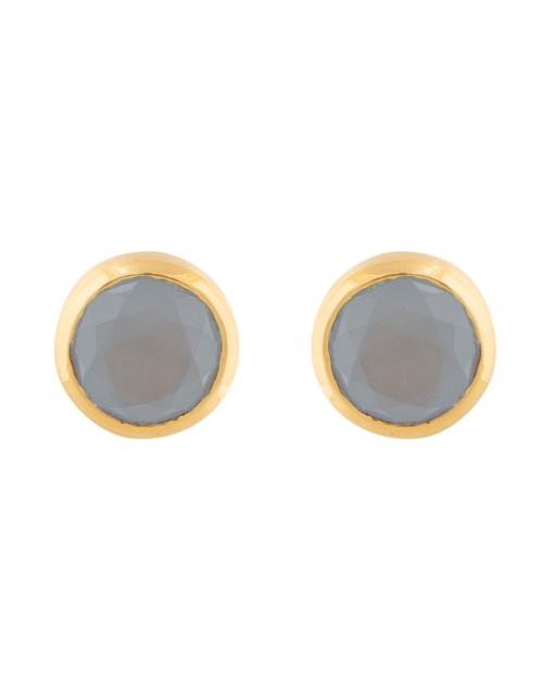 Dean Davidson - Blue Chalcedony Signature Knockout Stud Earrings