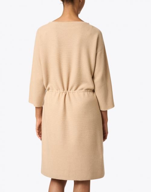 Fabiana Filippi - Beige Wool and Silk Knit Dress