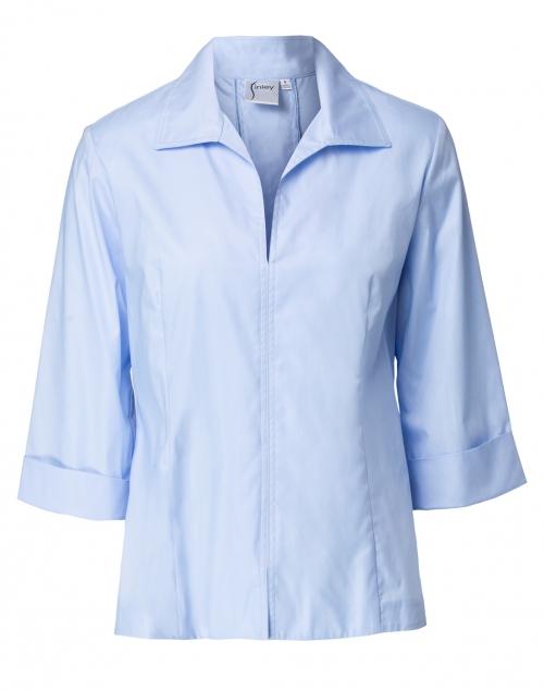 Finley - Swing Cornflower Blue Poplin Shirt
