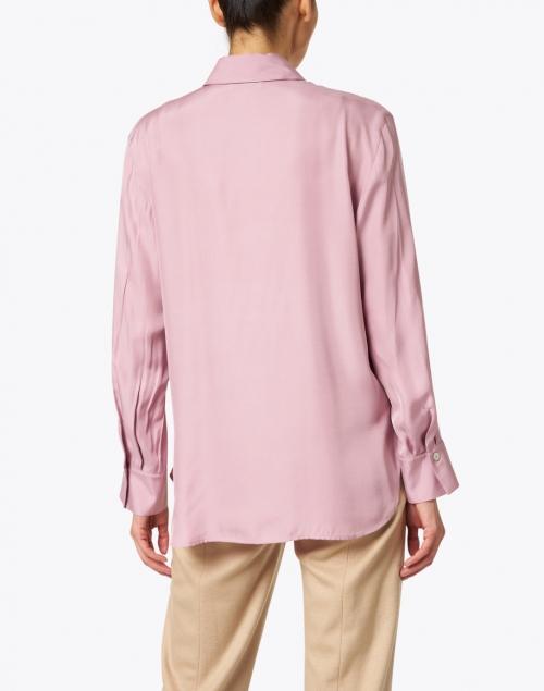 Vince - Light Pink Silk Top