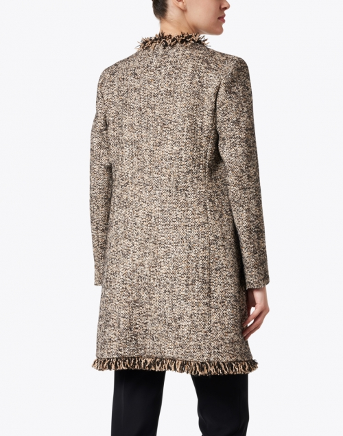 Seventy - Brown and White Wool Tweed Jacket